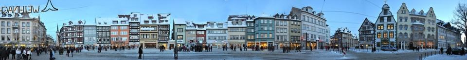 Erfurt Domplatz © Panorama Streetlline