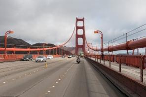 Fahrt über die Golden Gate Bridge
