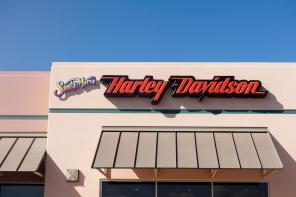 Einer von zig-HD-Stores, die wir um ein paar Shirts erleichterten ;-)