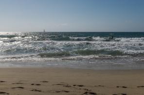 .... auf den Wellen reiten...