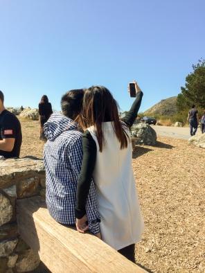 Selfie vor´m Pazifik