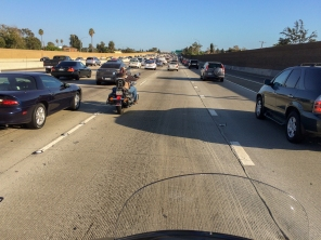 Volle Straßen in L. A.