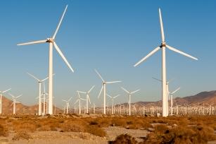 Viel Platz für Windkrafträder