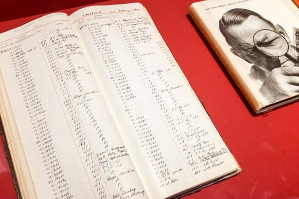 Liste über wann und wohin verkaufte Leicas
