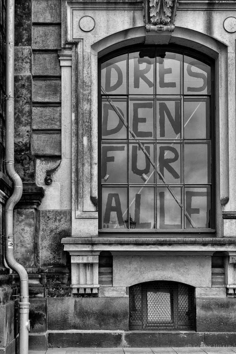 DRESDEN FÜR ALLE - Fenster der Hochschule für Bildende Künste in Dresden