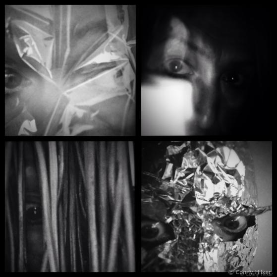 Hipstamatic, Diptic, Selbstportraits, s/w